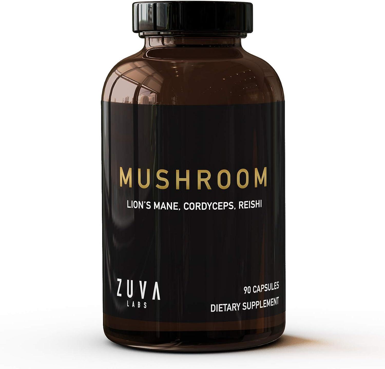 Lions Indianapolis Mall Mane Mushroom Capsules. w Supplement Finally resale start Premium 200
