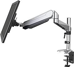 Eono Essentials - Soporte con total movimiento para monitor de sobremesa con pantalla de 15–27 pulgadas