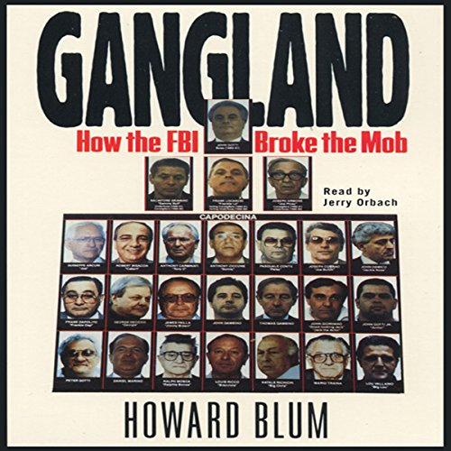 Gangland audiobook cover art