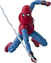 Tamashii Nations Bandai S.H. Figuarts Spider-Man (Homemade Suit) & Optional Act Wall Set Action Figure