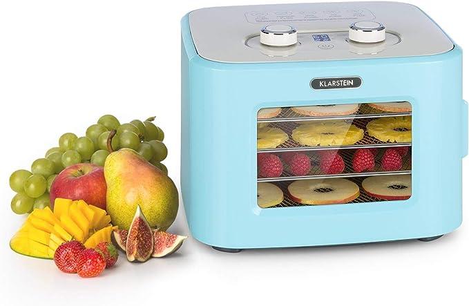 34 opinioni per Klarstein Tutti Frutti- Essiccatore, Potenza: 400 Watt, Temperatura: 35-80 °C, 4