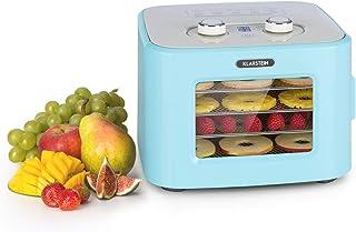 KLARSTEIN Tutti Frutti - Déshydrateur automatique, puissance:400 W, température:35-80 °C, 4 plateaux en inox, capacité :8 ...