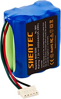 Shentec 3500mAh 7.2V Replacement Battery Compatible with iRobot Mint 5200 Braava 380 380T Mint 5200 5200B 5200C Floor Mopping Robots, Ni-MH