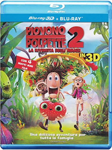 Piovono polpette 2(3D+2D) [3D Blu-ray] [IT Import]