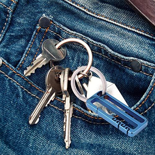 DC Key Keeper Ring, portátil, duradero, ligero, sin contact