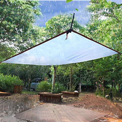 Lona Impermeable,Resistente al Agua y a los Rayos UV,Lona de Protección,Duradera con Ojales para Muebles, Jardín, Piscina-2x4 m / 6,6x13,2 pies