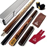 Best Snooker Cues - CUESOUL 57 Handcraft 3/4 Jointed Snooker Cue Review