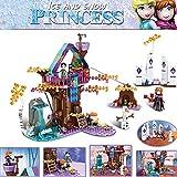 Niñas Princess Tree House Castle Building Blocks Sets Ladrillos Kits De Modelos Clásicos Niños Amigos-Sin Caja Original