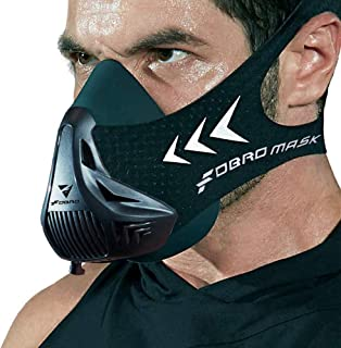 FDBRO Training Mask Fitness for Running,Size Small,Medim and Large,Resistance,Cardio,Endurance Mask for Fitness Training Sport Mask 3.0 with Carry Box