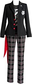 Persona 5 Dancing Star Night Joker Protagonist Akira Kurusu Cosplay Costume Suit