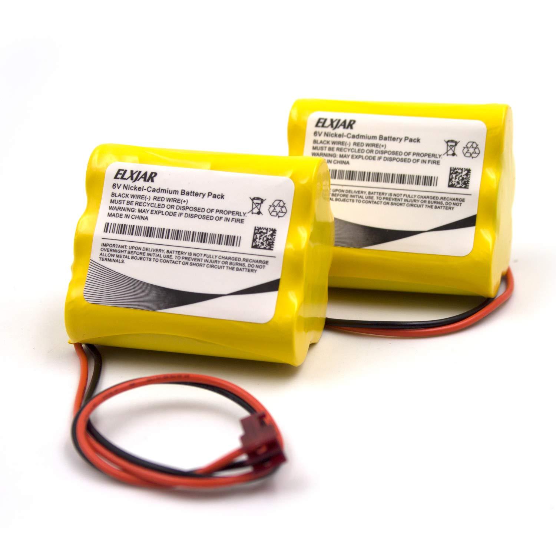 2 Bateria P/ Sure-Lite 026-149 SL026-149 S L 026-149 ANIC120