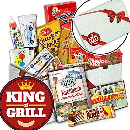 King of Grill - DDR Suessigkeiten-Box - Geburtstag Grillen