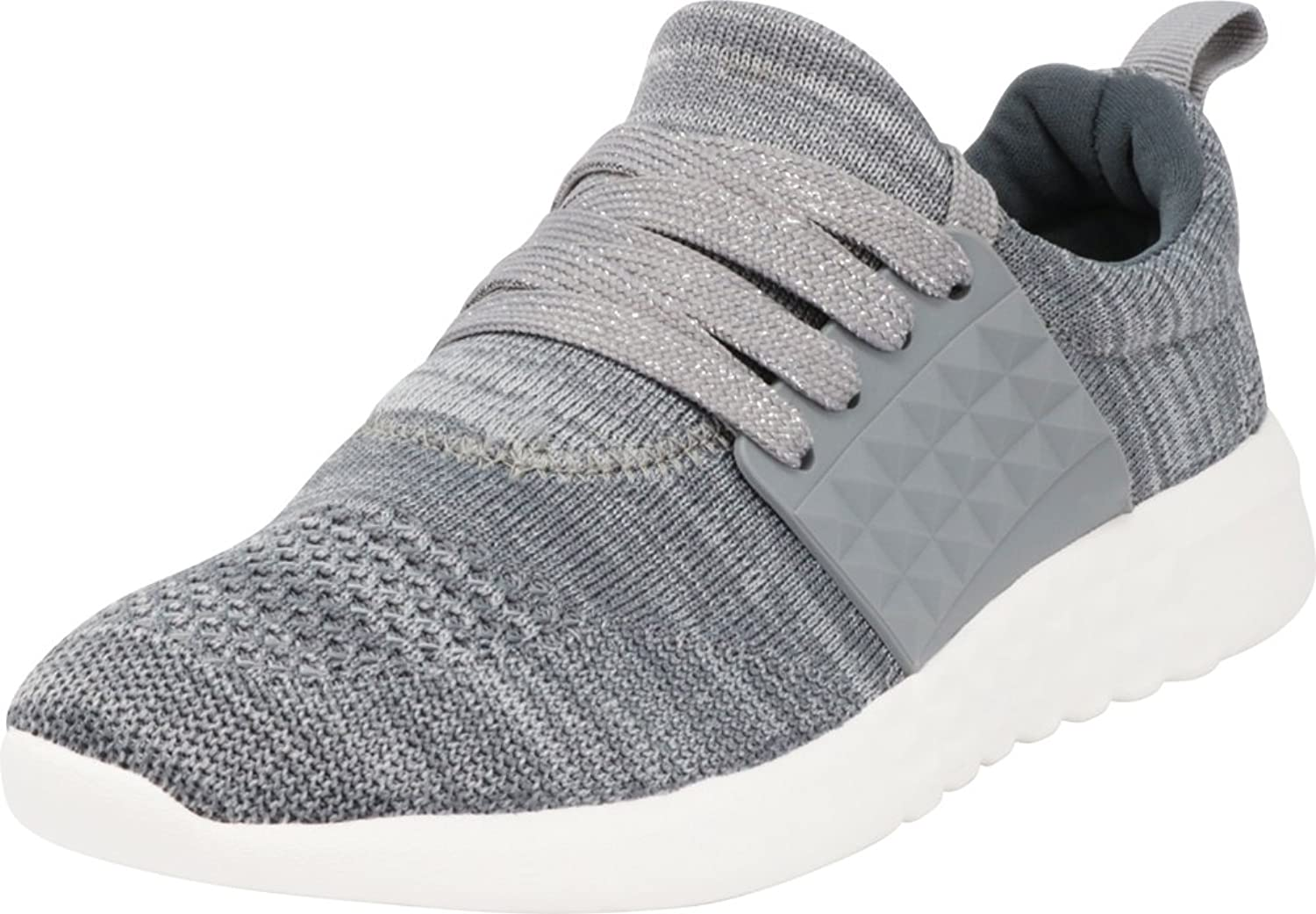 Cambridge Select Women's Breathable Lightweight Knit Lace-Up Casual Sport Fashion Sneaker