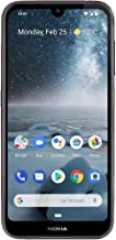 """Nokia 4.2 with Android One (32GB, 3GB) 5.71"""" HD+ Display, 13MP Dual Camera, GSM Unlocked (at&T/T-Mobile/MetroPCS/Cricket/H2O) Global 4G LTE International Model TA-1149 (Black, 32 GB)"""