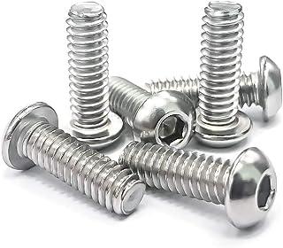 15-70Pcs M4 M5 M6 Socket Cap Screw Stainless Steel Hex Head Self Tapping Screws