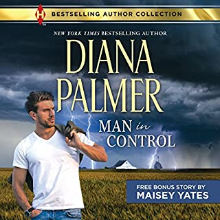 Man in Control & Take Me, Cowboy audiobook cover art