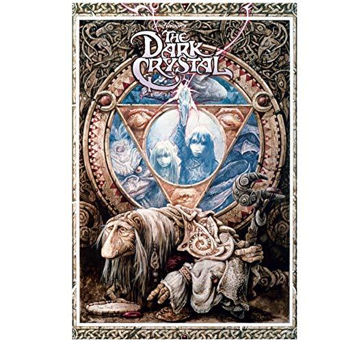 ad aterrorizar a The Dark Crystal - One Sheet Movie Poster Pintura Decorativa de Pared Imprimir en Lienzo-60x80cm Sin Marco