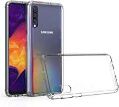 SaharaCase-Crystal Series Case Shockproof Military Grade Drop Tested Samsung Galaxy A50 Clear