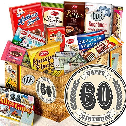 60. Geburtstag + Ossi Schokolade + Geschenke Geburtstag für Ihn