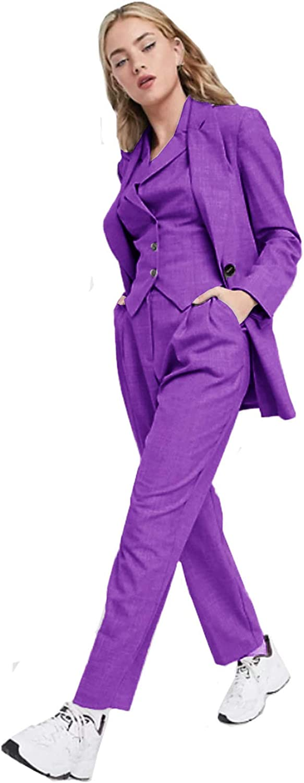 Women's 3 Piece Office Blazer Vest Lady Business NEW before selling ☆ Suit Set Pants Ranking TOP18