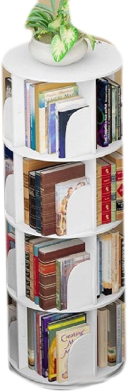 LianXiYou Shelving Wrap General Metal Stackable 4-Shelf Wide Open Bookcase AS3 4 Shelves