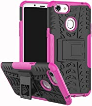 Shockproof Compatible with OPPO F5 Case, Personality Creativity Hyun Pattern Dual Layer Hybrid Armor Kickstand 2 In 1 Shockproof Case Cover Compatible with OPPO F5 / OPPO F5 Youth (Color : Pink)