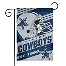 Dalean Dallas Cowboys Double-Sided Printed Garden Flag Weatherproof for Party Yard and Home Outdoor Decor - 12x18 Inches