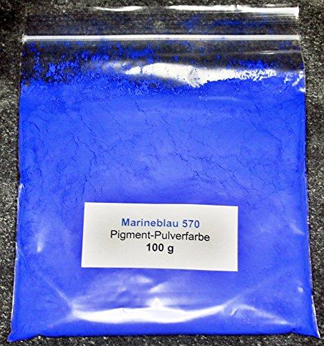 100 g Blau/Marineblau Pigment Farbpulver für Beton Gips Zement Harz