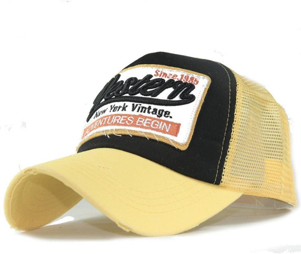 HuiBOYS Baseball Kappe Basecap Unisex einstellbare Retro Baseball Hut Freizeit Cap modischste Cotton Cap Schreiben Outdoor Hut f/ür M/änner und Frauen