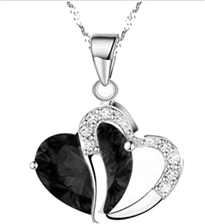 Best black and white diamond spider necklace Reviews