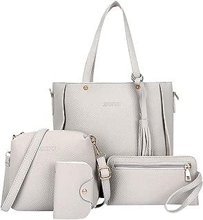 Goddessvan Woman Bag 2019 Fashion 4 Piece Shoulder Bag Messenger Bag Wallet Handbag Composite Bag