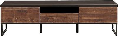 関家具(Sekikagu) テレビ台 ブラウン 幅149.5×奥行44.5×高さ41cm テレビボード ブラウン