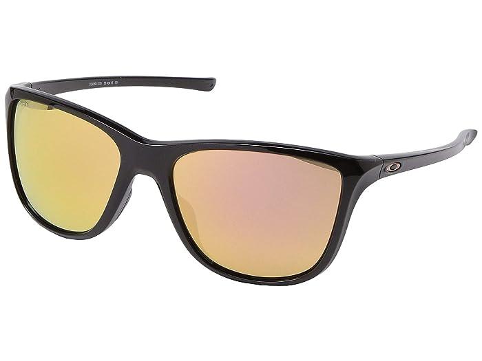 Oakley Reverie (Polished Black) Fashion Sunglasses
