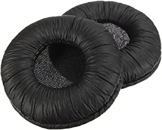 Replacement Earpad Cushions For Plantronics Supra Plus Encore, H251 H251N H261 H261N H351 H351N H361 H361N H51N H61 H61N H91 H91N H101,PLX, Spirit And Most Standard Size Office Telephone Headset