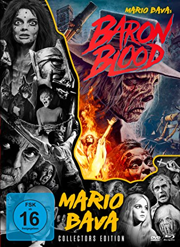Baron Blood (Mediabook + 2 DVDs) [Blu-ray]