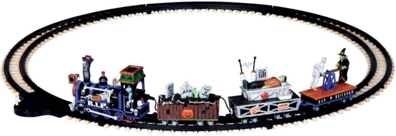 Lemax Signature Collection Spooky Max 81% Virginia Beach Mall OFF Set Train Town