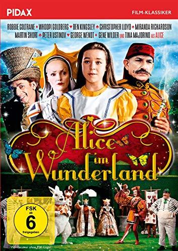 Alice im Wunderland / Preisgekrönte Verfilmung des Romanklassikers mit Staraufgebot (Pidax Film-Klassiker)