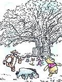 Disney Wandbild von Komar | Winnie Pooh Playground |