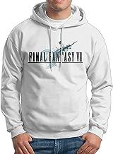 Man Boy Popular Anime Final Fantasy VII Design Hooded Hoodies Sweatshirt