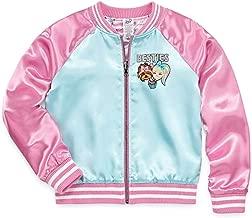 Girls JoJo Siwa Jacket Lightweight Bomber Besties Coat Reversible