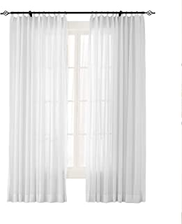Best white voile panel Reviews