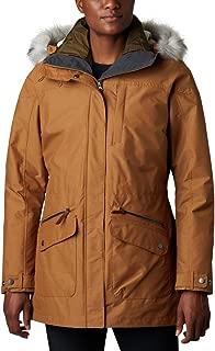 Columbia Women's Standard Carson Pass Interchange Jacket, Camel Brown, Medium