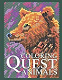 Coloring Quest: ANIMALS (Color By Number Quest)