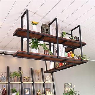 Armoire de cuisine Organisateur suspendu Racks de verres à pied Support de verrerie Fer en métal Support de verre à vin Ba...