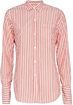 Nili Lotan Women's Pink Striped Shirt