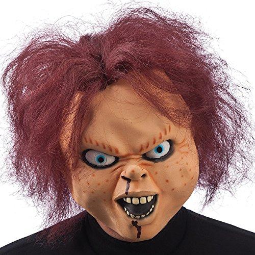 DC Masque Chucky - Adulte - Taille Unique - Deguisement Halloween - 155