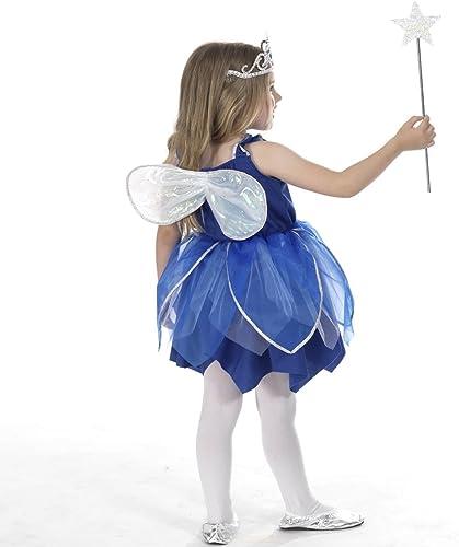hermoso Deluxe - Disfraz de hada de las nieves para para para niña, Talla 6 años (300335)  a la venta