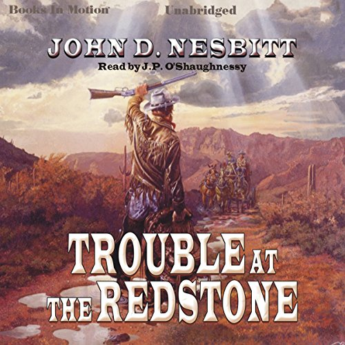 Trouble At The Redstone audiobook cover art