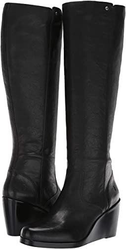 d6d53534407 Frye regina wedge tall boot