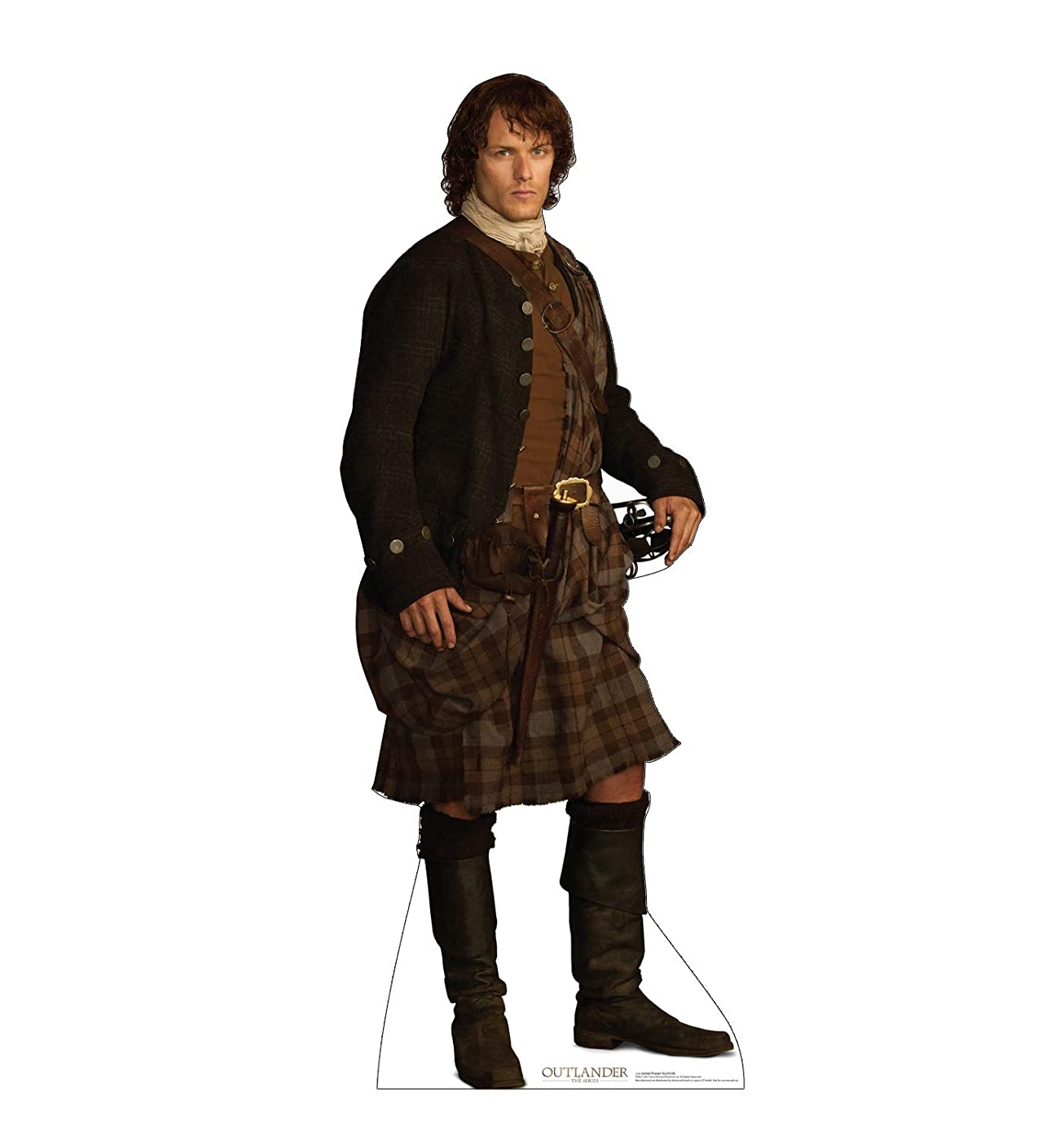 Advanced Graphics Jamie Fraser Life Size Cardboard Cutout Standup - Scottish Version - Starz Outlander